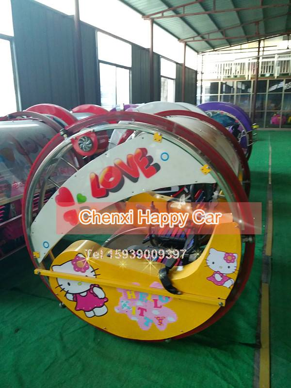 China Amusement Park Happy Leswing Car Coin Operated Car Kiddie Rides for outdoor playground