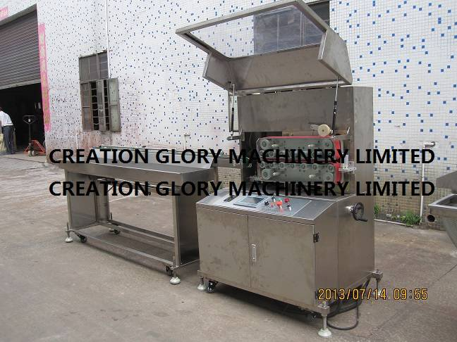High precision stainless steel micro computer cutter for plastic extrusion line
