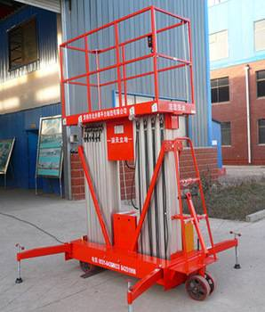 CE new product aluminium lift ladder for hotel maintenance