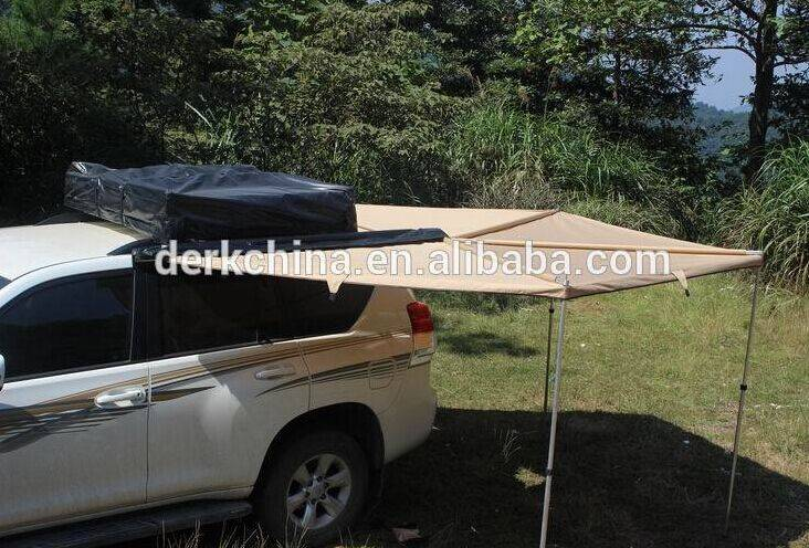 outdoor aluminum car roof tent awning car parts & accessories