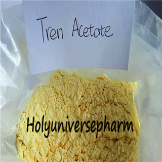 99% Quality Trenbolonee Acetate,Yellow powder, CAS10161-34-9, high purity on sale