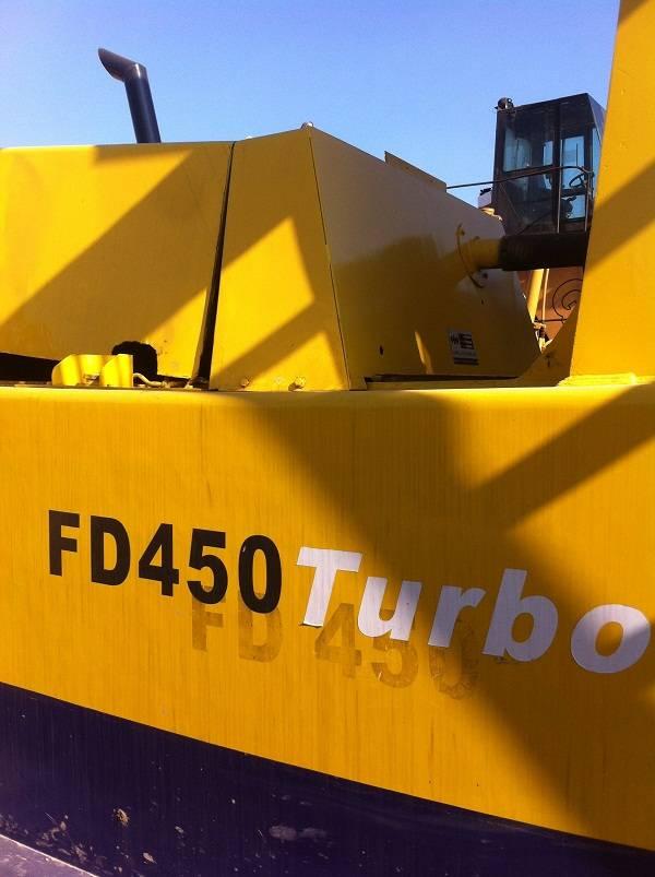 Used Forklift Truck  komatsu FD450