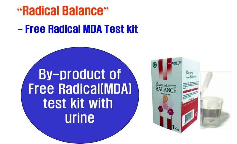 Radical Balance(Bulk,OEM) - Quick and Easy Test-kit for Free Radical