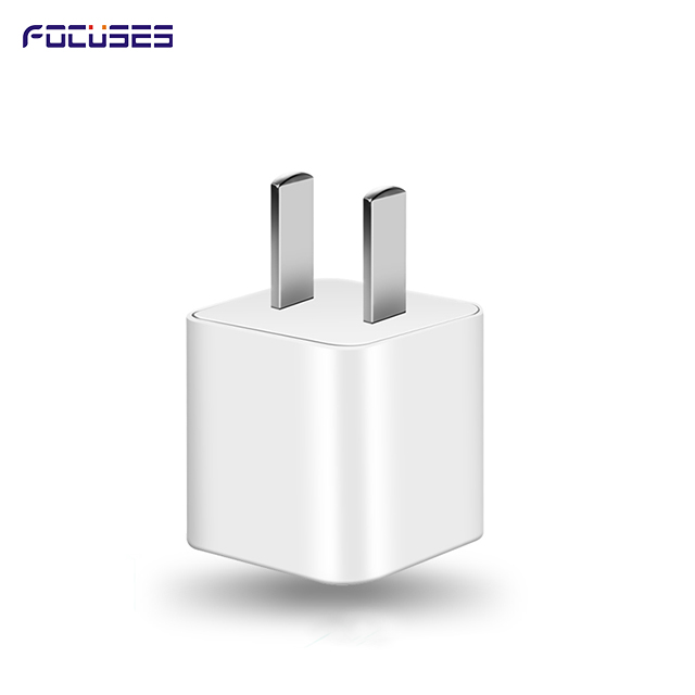 Focuses 5W (UL certified) USB Wall Charger Power Adapter for iPhone, iPad, iPod