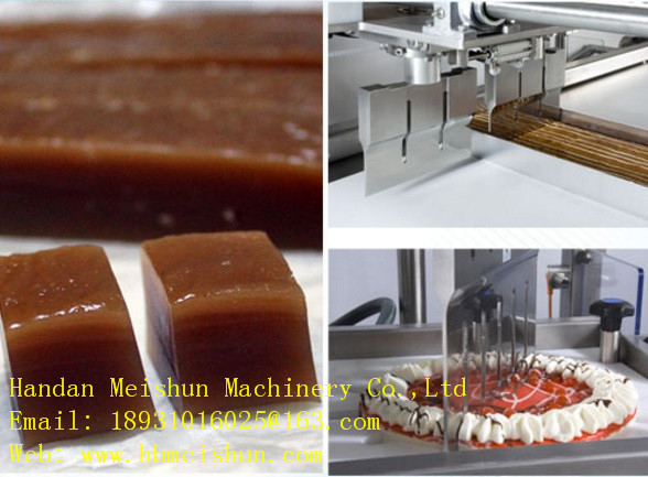 Ultrasonic candy cut machine