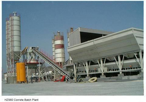 HZS60 Stationary Concrete Mixing Plant
