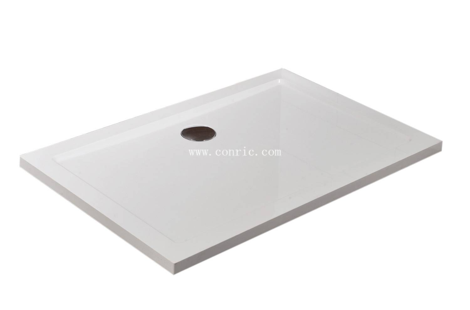 SMC rectangle 80*120*4cm shower tray