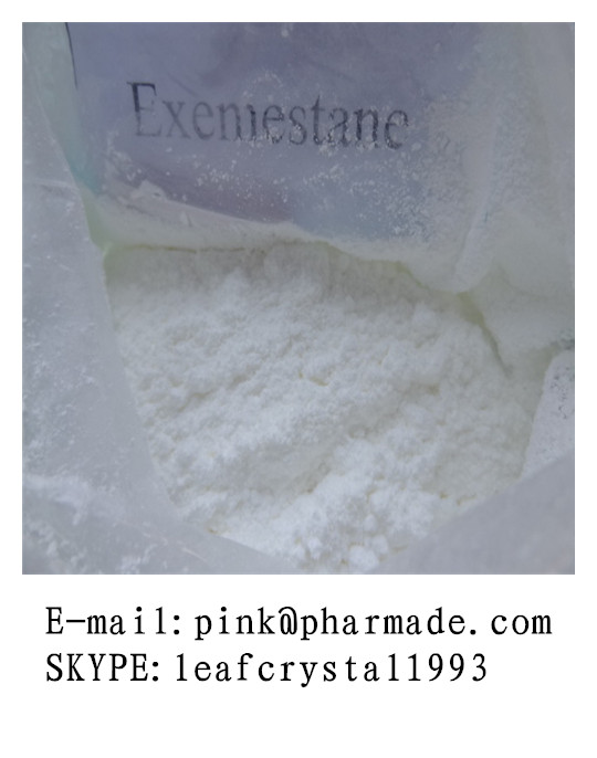 Safe CAS 315-37-7 Powdered Anti-Estrogen Steroids Exemestane For Muscle Building
