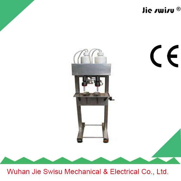 Semi-automatic cosmetic vacuum filling machine