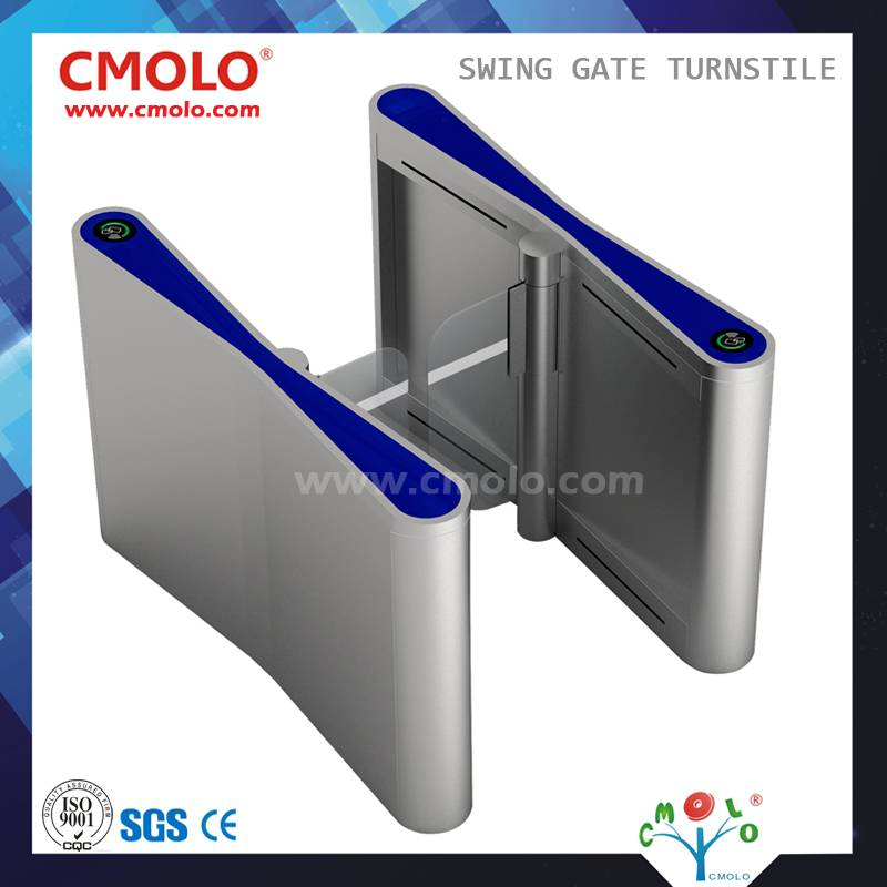 Automatic Waist High Swing Gate Turnstile (CPW-900EVS02)