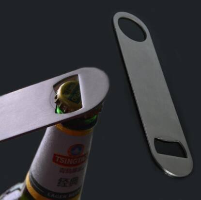 stainless steel bar blade beer bottle opener