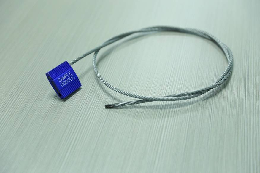 ISO17712 & C-TPAT APPROVE ALUMINUM ALLOY CABLE SEAL JF019 with high quality and low price