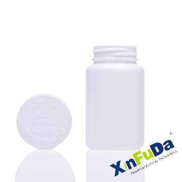 tablet bottle with CRC