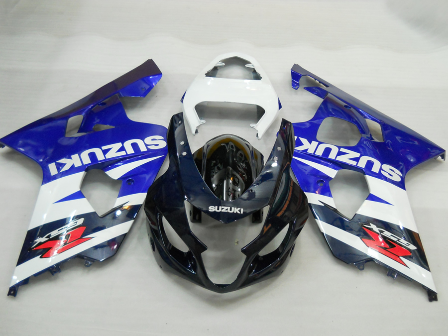 GSX-600R GSX-750R 2004 to 2005 original Blue White Black replacement body work