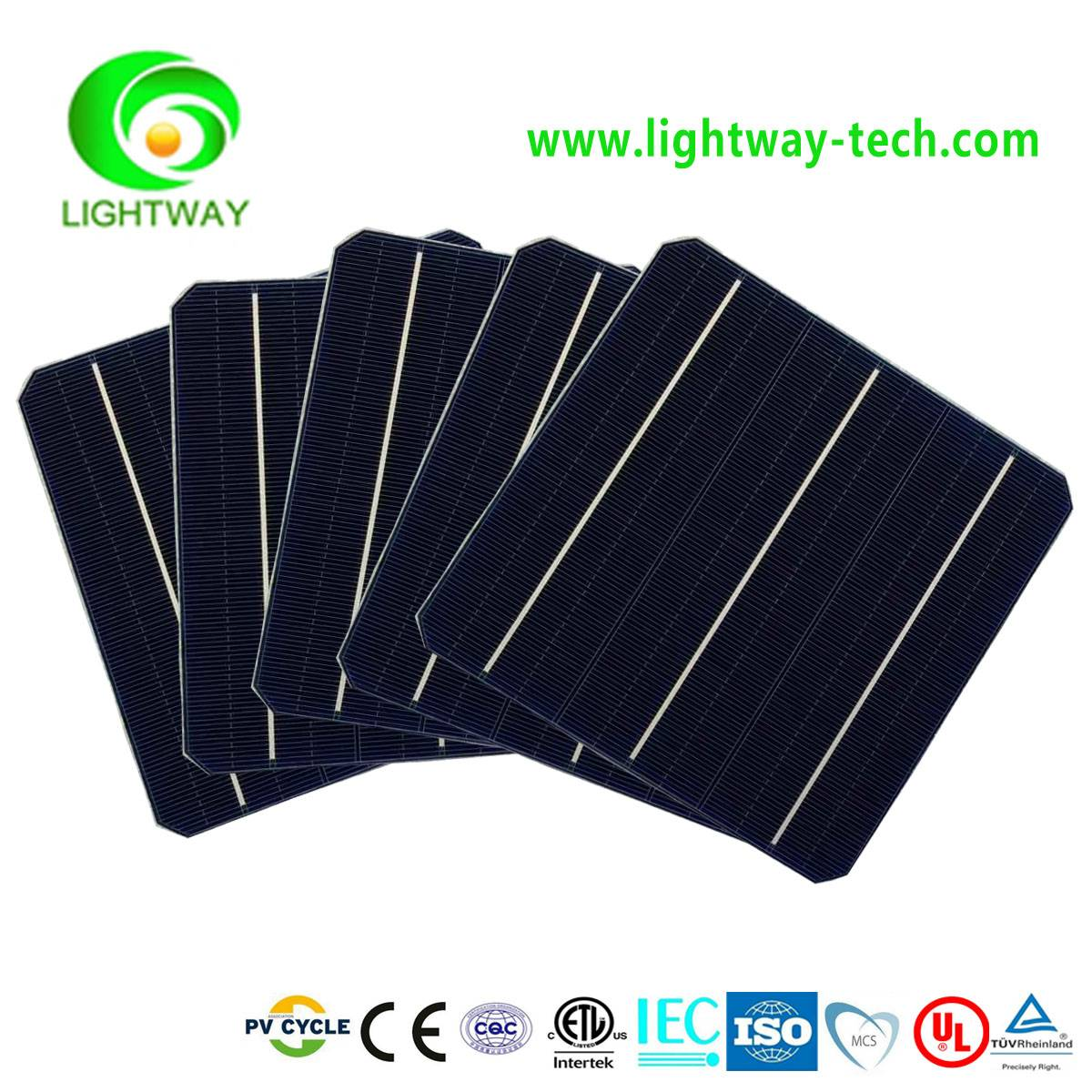 156x156 21.2% high efficiency monocrystalline silicon solar cell made in Taiwan