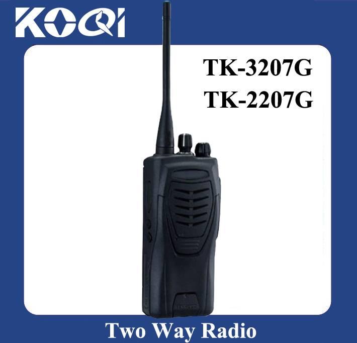 Portable Radio Walkie Talkie TK-3207G UHF Two Way Radio