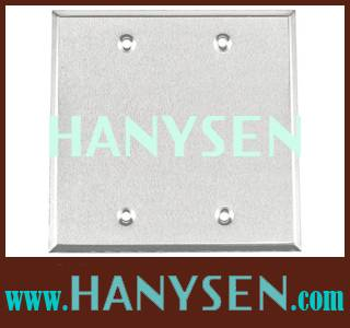 electrical junction box cover/single gang /square box cover