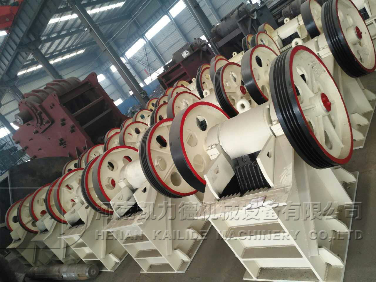 Jaw crusher from china with factory price