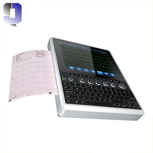JQ-MAC120 Most cost-effective 12 channel ECG Print A4 report by USB connecting printer with CE