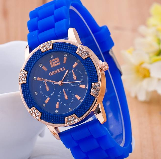 Luxury promotional watches silicone watch wrist pocket watches