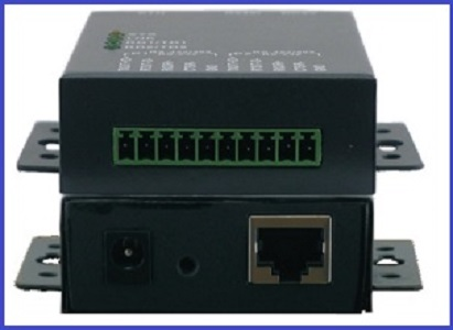 2Channel Serial to Ethernet converter
