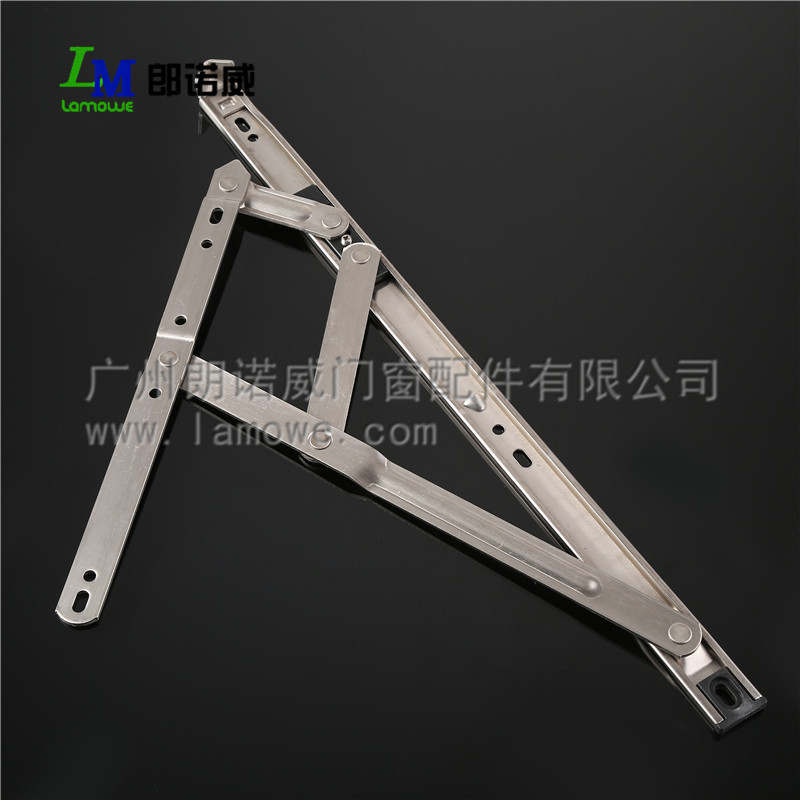 aluminium window fitting , SS201 or SS304 friction stay hinge,windows hinge