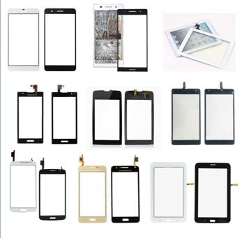 Various types of mobile phone touch screen
