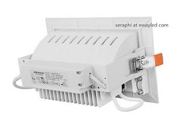 Energy-saving CE/RoHS/SAA Approved 30W LED Downlight Shoplights