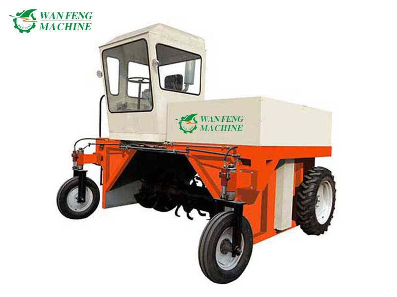 Henan Wanfeng windrow compost turner