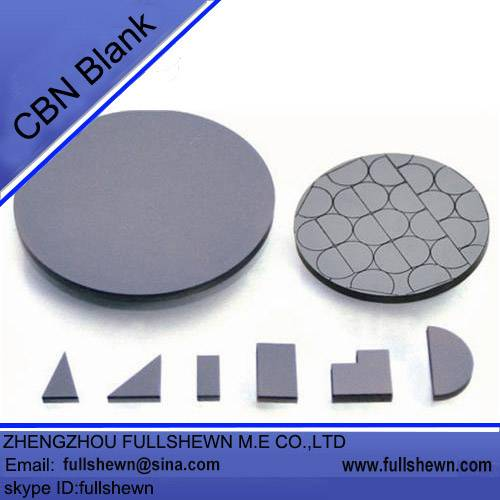 CBN blank compact for CBN cutting tools