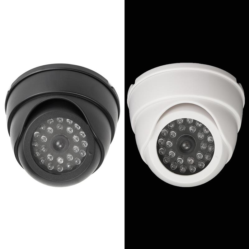 Quality Dummy Fake Outdoor Indoor CCTV Security Camera Blinking With Led Light Camera