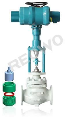 10D00 multi-hole cage control valve