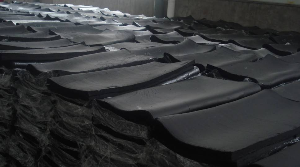High quality tensile whole tyre reclaimed rubber