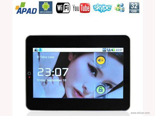 10.1 Inch touch screen Google Android 1.5 MID Pocket PC