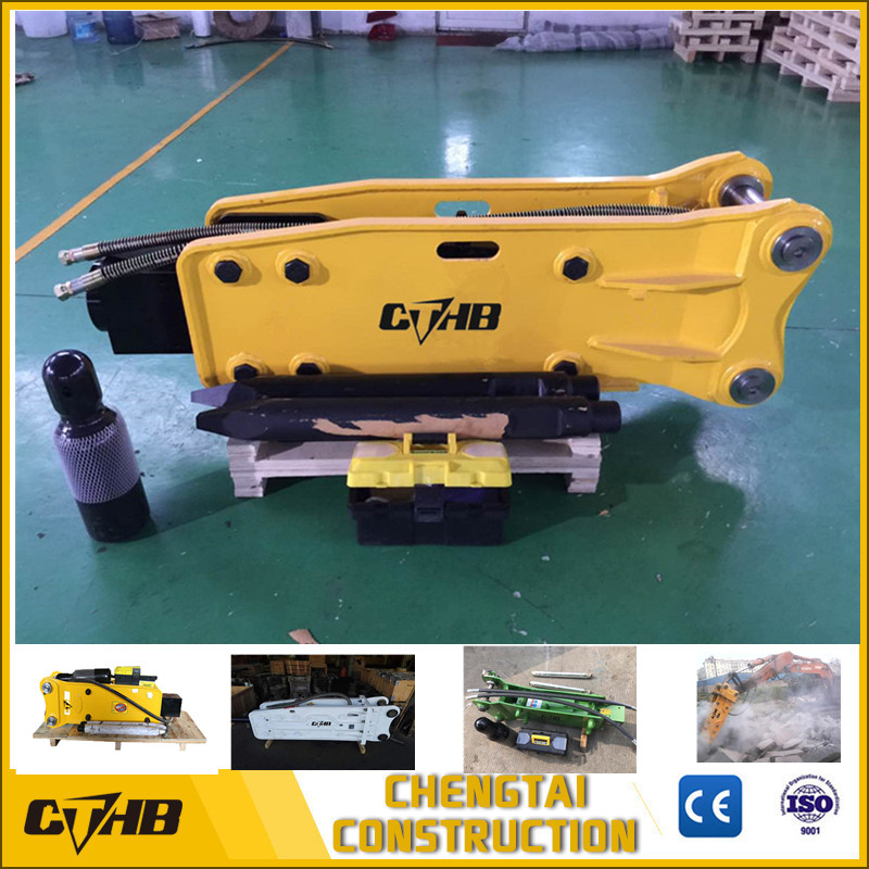Top open type hydraulic breaker
