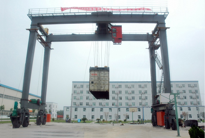RTG Model Container Gantry crane 50Ton For Sale