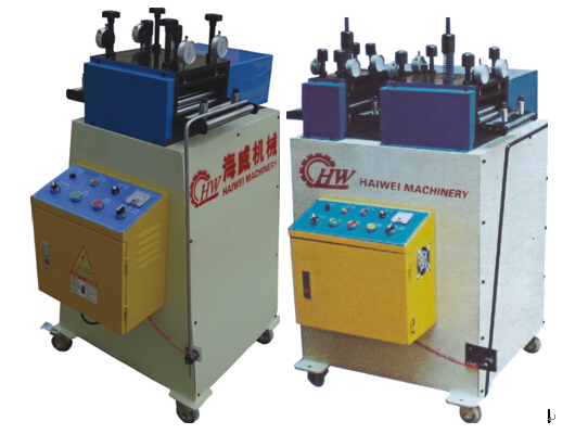 Best price HaiWei precision straightening machine for thick metal