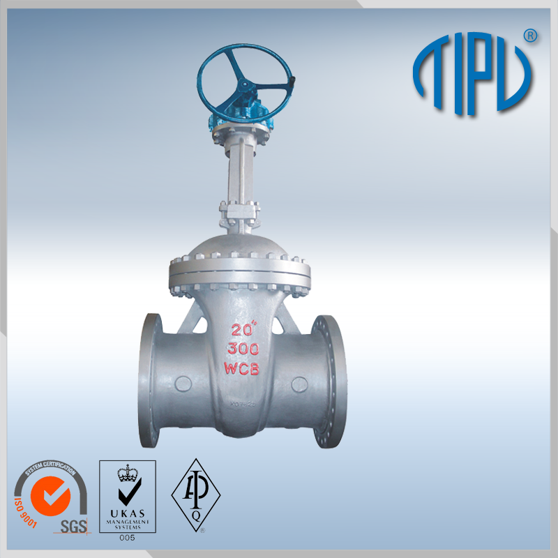A217-C5/WC6/WC9 butt welded gate valve