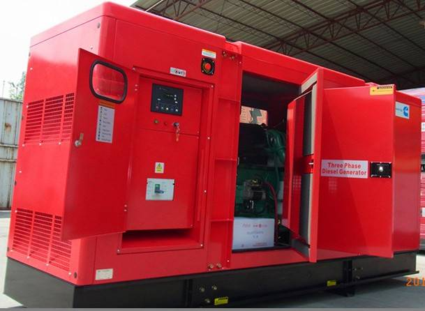 250KVA/200KW Diesel Silent Generator with CUMMINS Engine(CK32000)