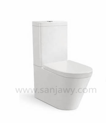 OEM two piece toilet for mideast Market Bathroom Ceramics two pcs toilet/WC/Water closet