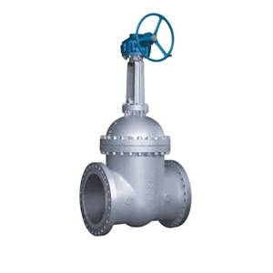 power station Bevel gear gate valve