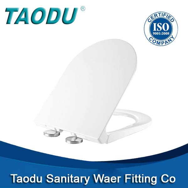 Urea toilet seat cover with soft close hingesUF-806