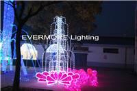 motif lighting Fountain