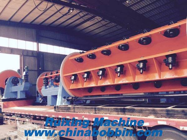 630/12+18+24 rigid Frame Stranding machine for large section cable