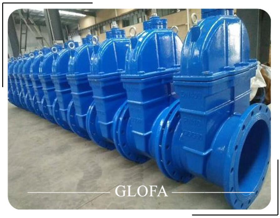 DUCTILE IRON GGG40 EPDM RESILIENT SEATED GATE VALVE