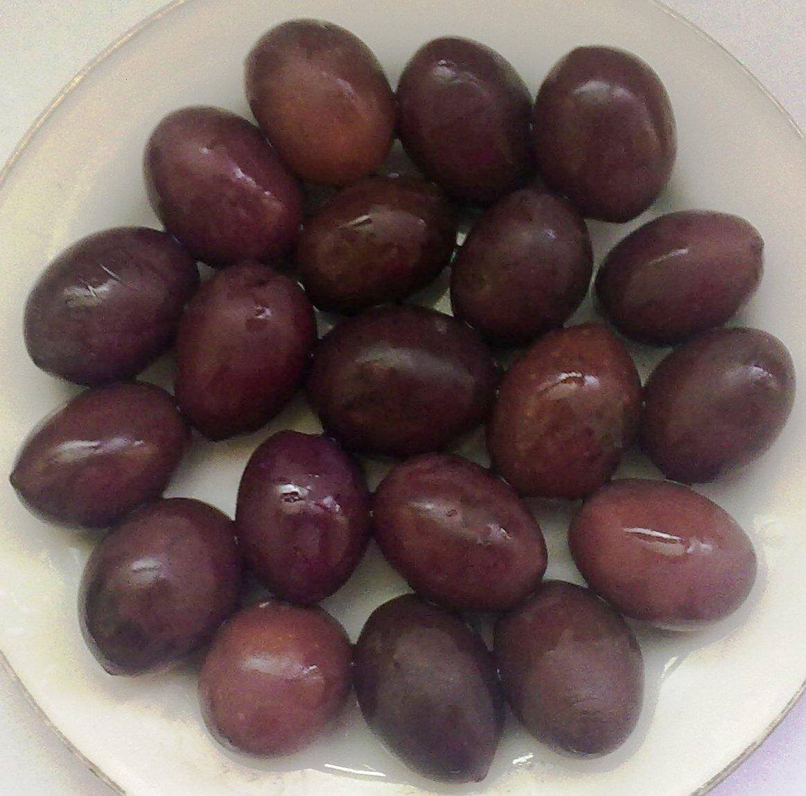 black olives picual