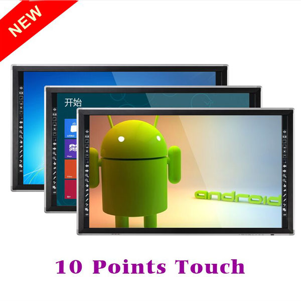 big size 65inch touch screen monitor