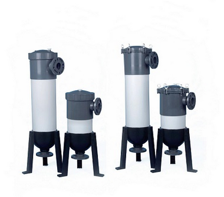 PVC filter cartridges housings