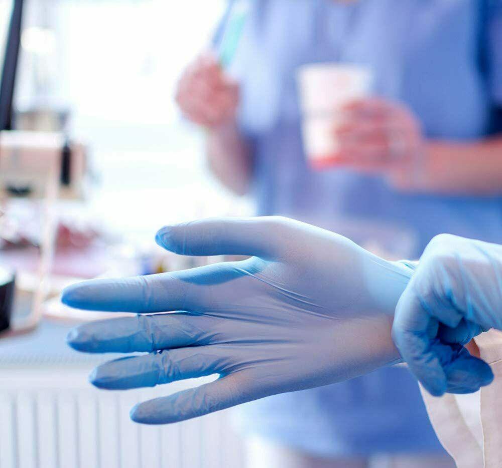 Nitrile gloves bulk Sale