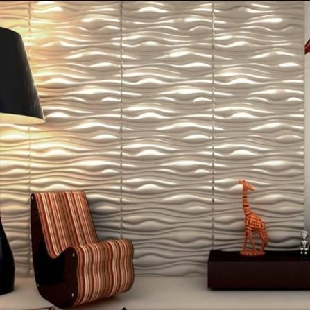 high quality new design wave effect 3d wallpaper